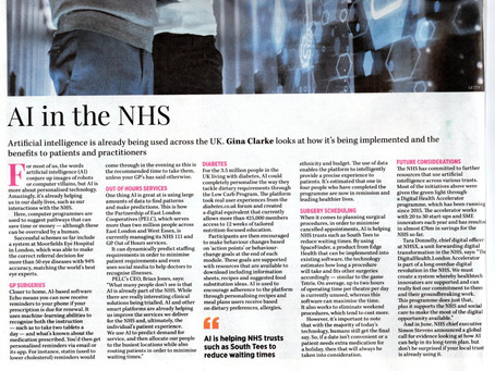 AI in the NHS- Edge Health featured!