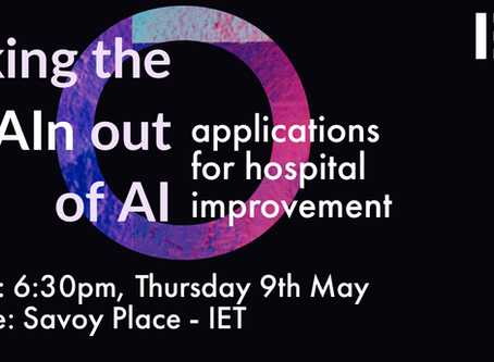 UPCOMING EVENT: Taking the pAIn out of AI - Applications for hospital improvement