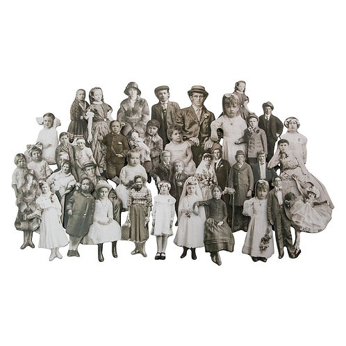 Tim Holtz  - Idea-ology  - Baseboard Dolls