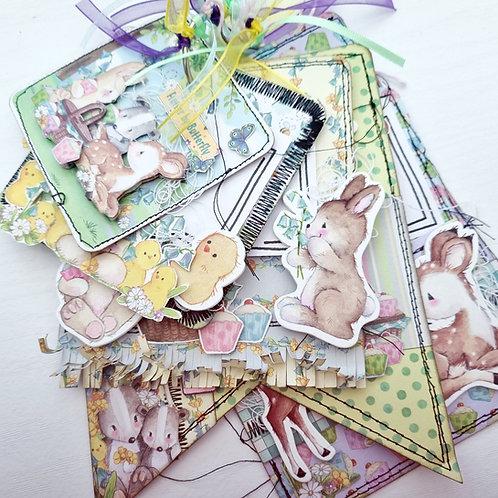 #6x6Sunday Class Kit - July 2021 -Paper Scissors Story