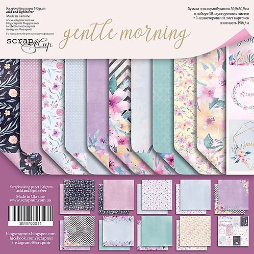 Gentle Morning Scrapbooking Kit - Small