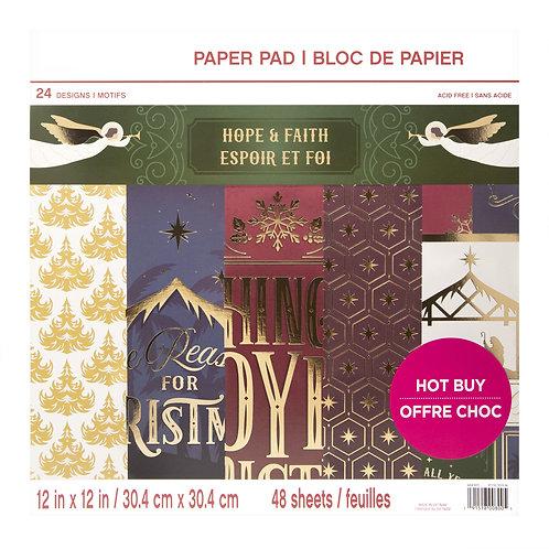 Craft Smith - Hope & Faith - 12 x 12 Paper Pad