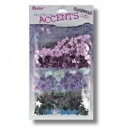 Darice Finishing Accents Confetti 3 Pack Wedding