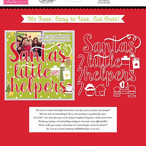 Bella Blvd - Cut Outs - Santa Squad Little Helpers