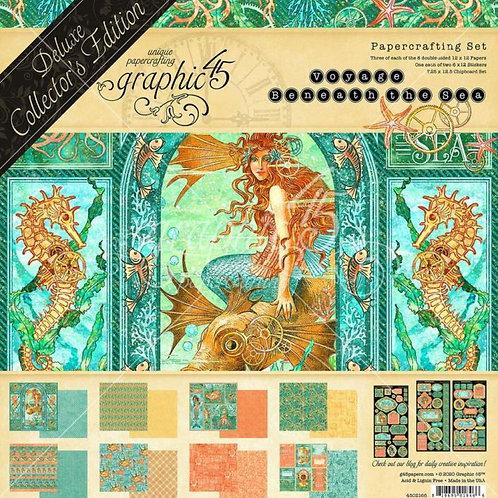 Graphic 45 - Voyage Beneath the Sea - DeLuxe Collectors Edition