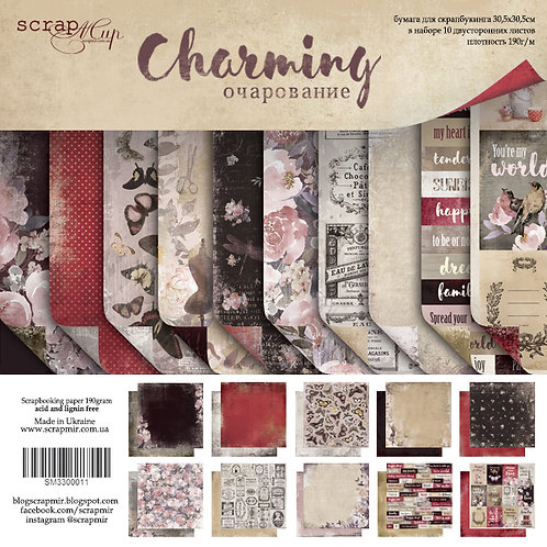 Charming Scrapbooking Kit, Flair, sticker and Die Cut Pack