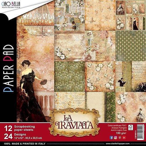 Ciao Bella - La Traviata - 12x12 paper pack