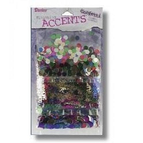 Darice Finishing Accents Confetti 3 Pack Congrats