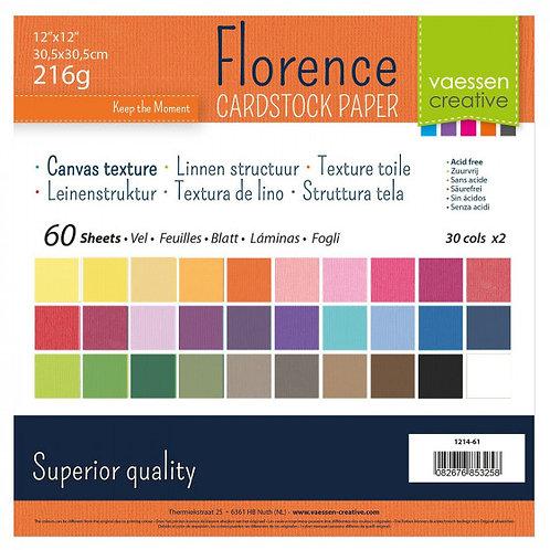 Vaessen Creative Florence Cardstock Paper 12x12