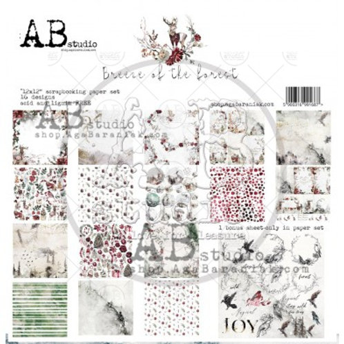 AB Studio - Breeze of the Forest - 12x12 Paper Pack