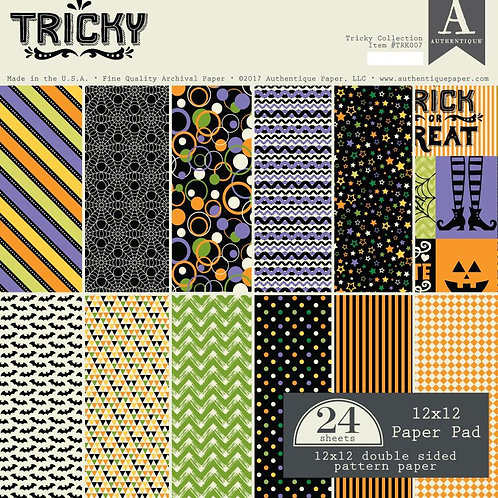 Authentique - Tricky - 12x12 paper pad