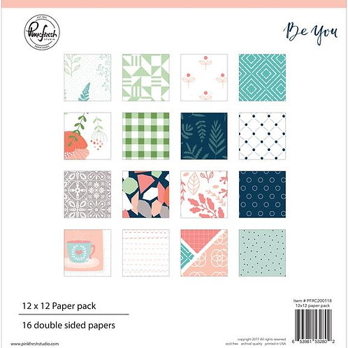 PinkFresh Studio Be You 12x12 Collection Pack