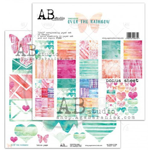 AB Studio - Over the Rainbow - 12x12 Paper Pack