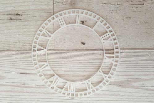3d Printed Open Clock Face - 2 inch diameter