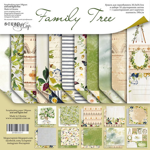Scrapmir - Family Tree Big Bundle