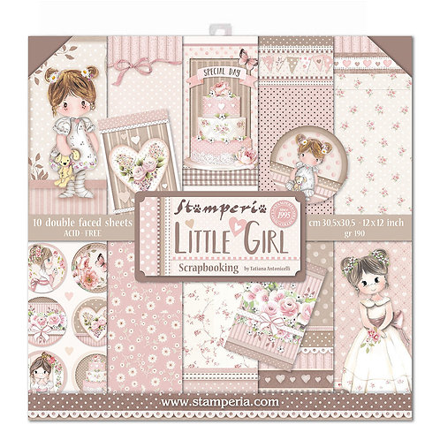 Stamperia - Little Girl - 12x12 Paper Pack