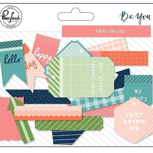 PinkFresh Studio Be You Fabric Die Cuts