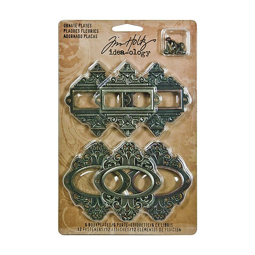 Tim Holtz  - Idea-ology- Ornate Plates