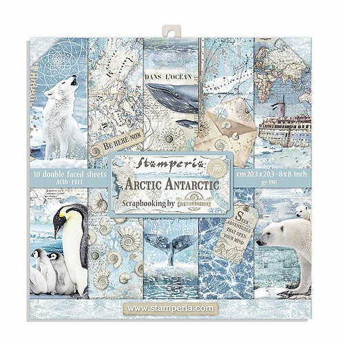 Stamperia Arctic Antarctic 8x8 Collection pack