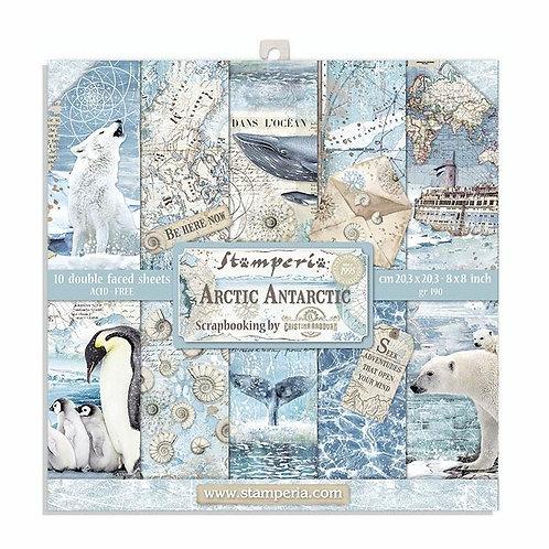 Stamperia Arctic Antarctic 8x8 Collection pack