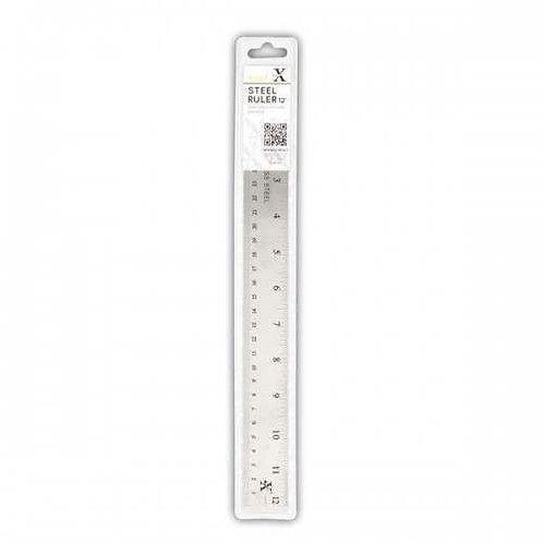 X Cut 12 Inch Metal Ruler