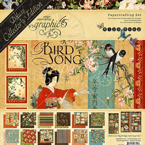 Bird Song Deluxe Collectors Edition - Graphic 45