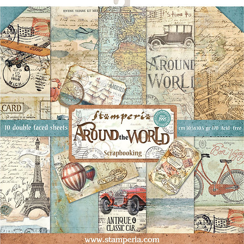 Stamperia Around the World 12x12 collection pack
