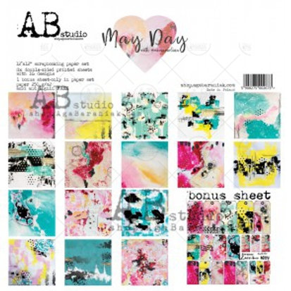 AB Studio - May Day - 12x12 Collection Pack