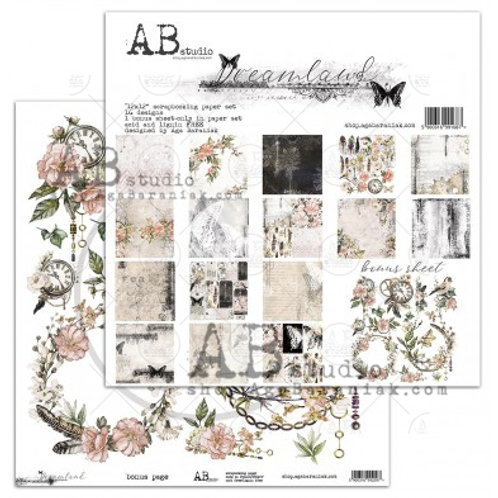 AB Studio - Dreamland - 12x12 Collection Pack