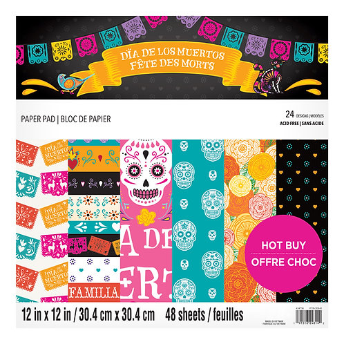 Craft Smith - Day of the Dead - 12 x 12 Paper Pad