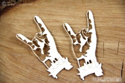 Scrapiniec - Rock Hands chipboards