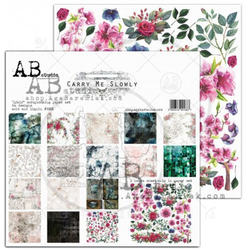 AB Studio - Carry Me Slowly - 12x12 Paper Pack