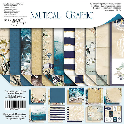Scrapmir - Nautical Graphic - Scrapbooking Bundle