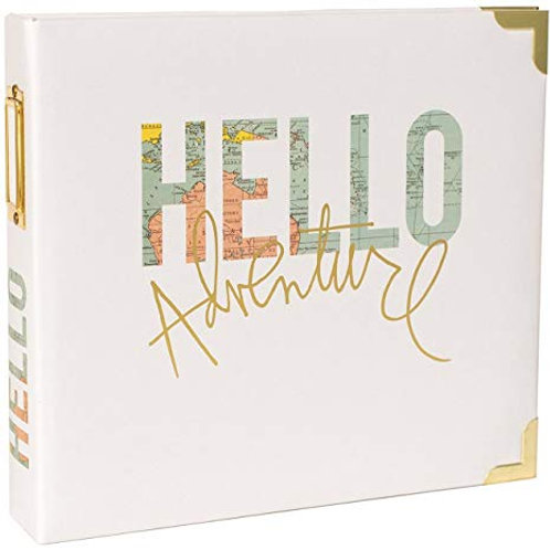 Project Life - Hello Adventure - D ring 8x8 Binder
