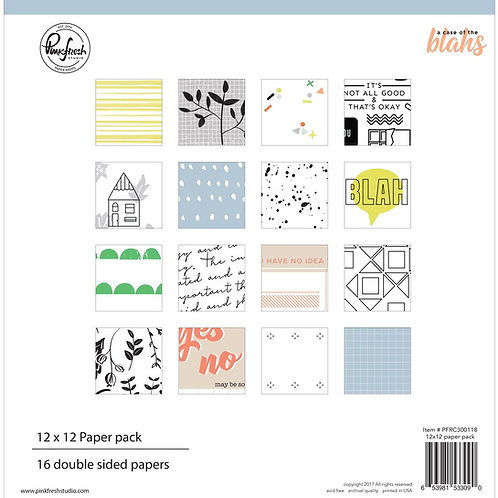 PinkFresh Studio - A Case of the Blahs - 12x12 Collection Pack