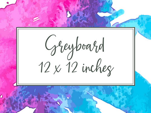 Cal Summers Greyboard - 12 x 12 inches - 5/10/15/20 sheets