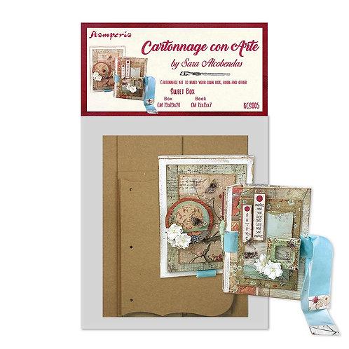 Stamperia - Cartonnage - Sweet Box