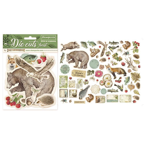 Stamperia - Forest - Die Cuts