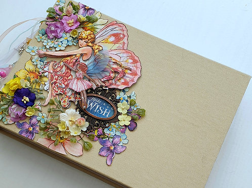 Graphic 45 - Fairie Wings Class Minibook Kit