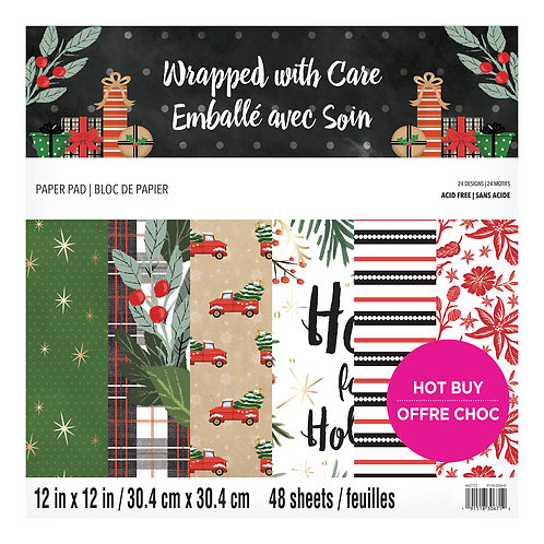 Craft Smith - Wrapped With Care - 12x12 Collection Pad