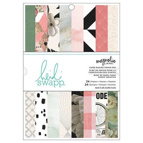 Heidi Swapp Magnolia Jane 6x8 paper pad