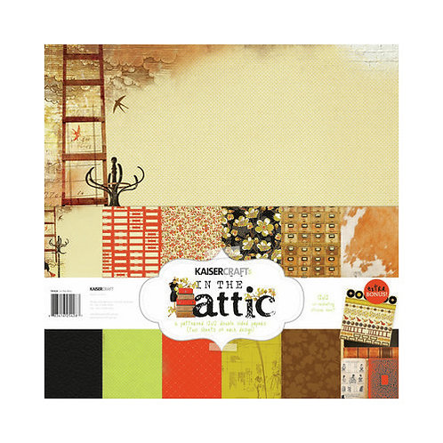 Kaisercraft In The Attic 12x12 Collection Papers