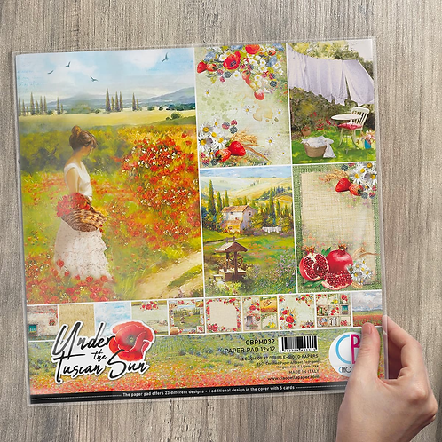 Ciao Bella - Under the Tuscan Sun - 12x12 paper pack