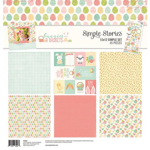 Simple Stories - Bunnies and Baskets - 12x12 Simple Set
