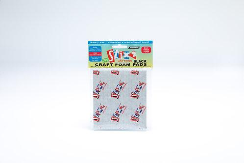 Stix2 Craft Foam Pads 5x5x2mm BLACK