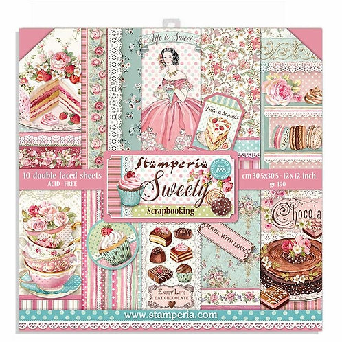 Stamperia - Sweety - 12x12 Collection Pack