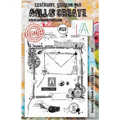 Stamp #159 XXX by Bipasha Pk for Aall & Create