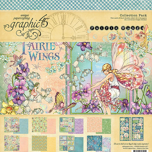 Graphic 45 - Fairie Wings 12 x 12 Collection Pack