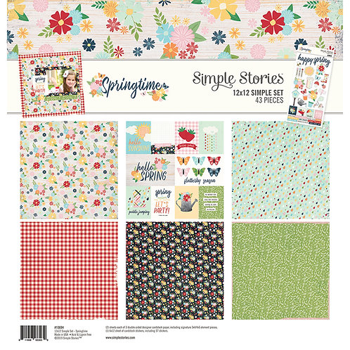 Simple Stories - Springtime - 12x12 Simple Set