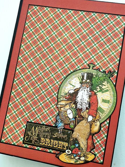 Graphic 45 Christmas Time Minibook Kit